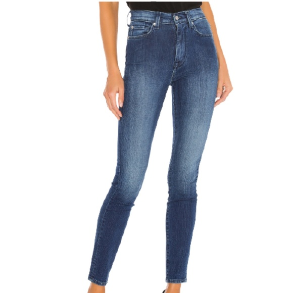 7 For All Mankind The High Waist Skinny Jean 26
